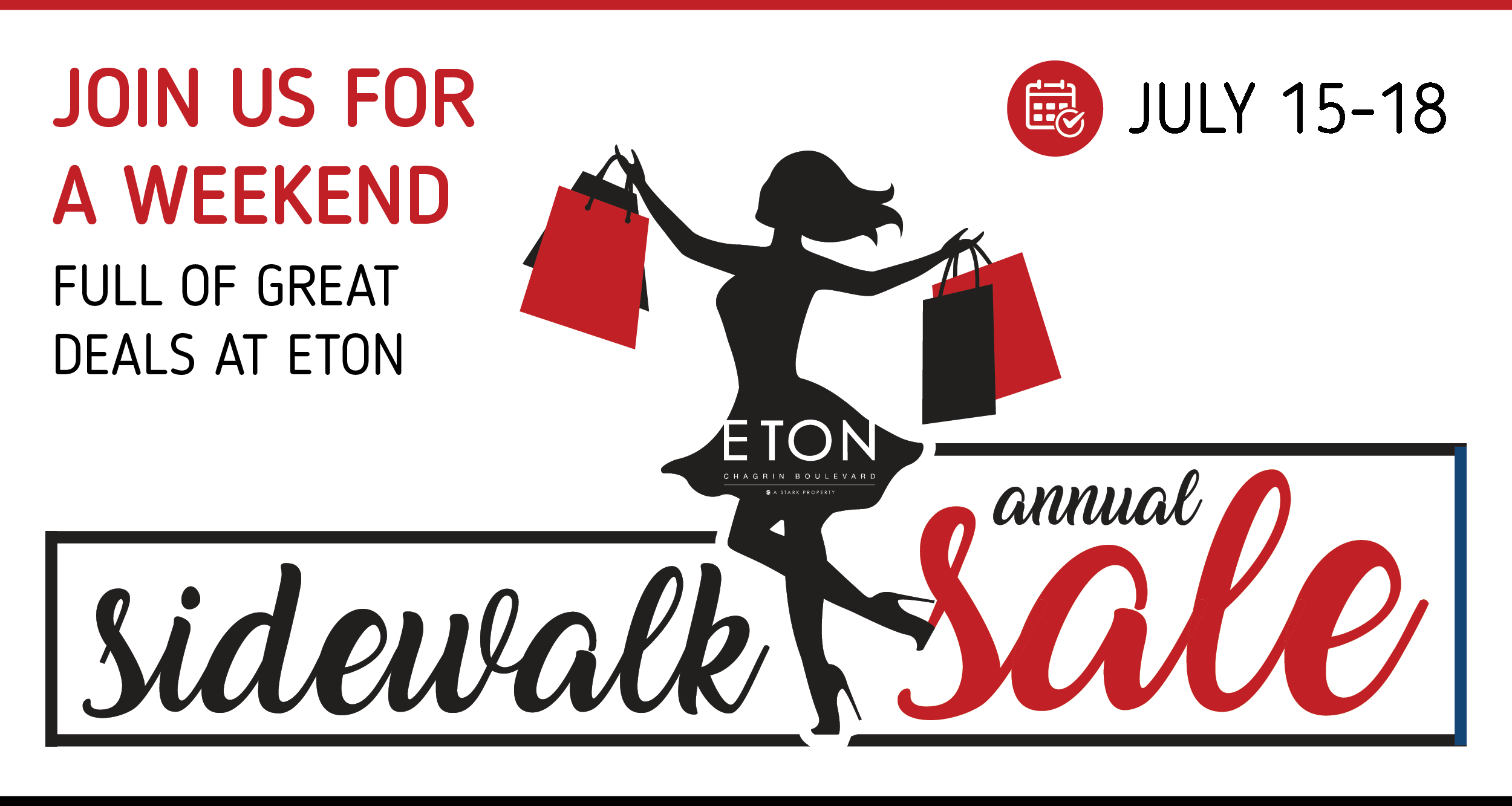 Summer Sidewalk Sale