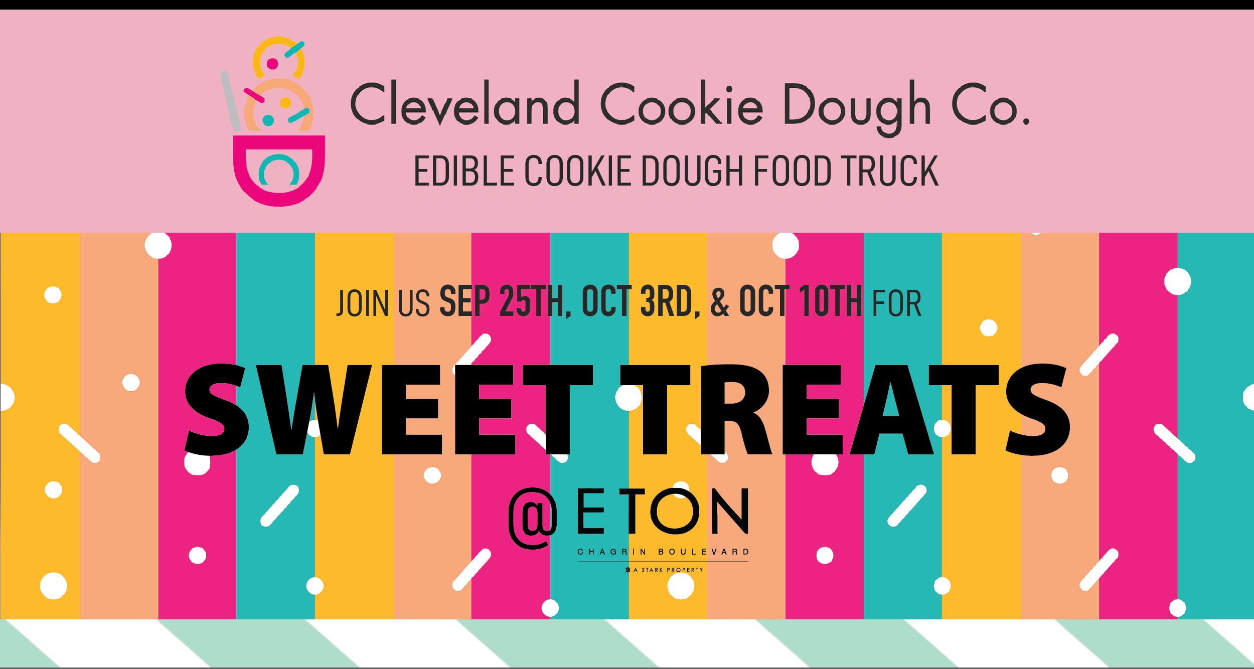 Cleveland Cookie Dough Co. Pop-up